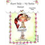 My-Besties Clear Stamps, Fancy Pants Fabby, 10cm by 15cm