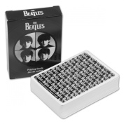 Playing Cards Beatles B&w Single Deck  : Playing Crds Beatles B