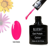 Shellac Nails by Bluesky Neon Cherise Shellac Gel 10ml