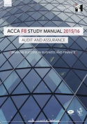 ACCA F8 Audit and Assurance (International) Study Manual Text