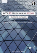 ACCA P3 Business Analysis Study Manual Text