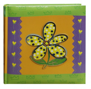 Pioneer Photo Albums 200-Pocket 3-D Daisy Applique Cover Photo Album, 10cm by 15cm