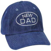New Dad Blue Embroidered Baseball Cap