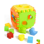 Educational Puzzle Develop Intelligence Plastic Building Blocks Child Gift Toy
