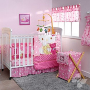 Hello Kitty Caramelo Crib Bedding 12Pc Complete Set