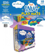 EnviUs Snug Plus Play Mat Numeric : Formamide Free Ultra Thick 10 Pieces 30cm x 30cm x 1.4cm