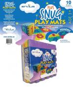 EnviUs Snug Plus Play Mat Numeric : Formamide Free Ultra Thick 10 Pieces 30cm x 30cm x 1.4cm