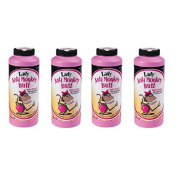 Anti-Monkey Butt Powder Lady 180ml Bottle of Calamine Powder, 4-Pack