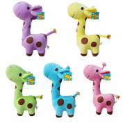 1x Cute Giraffe Soft Plush Toy Animal Dolls Baby Kid Birthday Party Christmas Gift