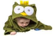 Owl Hooded Towel for Baby
