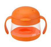 Ubbi Tweat Snack Container, Orange
