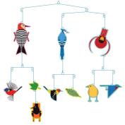 Charley Harper Birds Mobile
