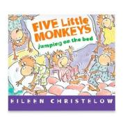Five Little Monkeys Jumping On The Bed Board Book By Eileen Christelow