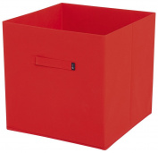 JoJo Maman Bebe Fabric Storage Cube, Red