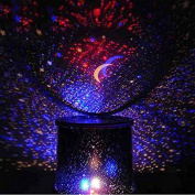 HuaYang Chic Design Star Sky LED Night Light Projector Lamp Decoration Best Gift