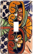 Single Toggle Mantel Talavera Switch Plate