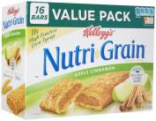 Kellogg's Nutri-Grain Nutri-Grain Cereal Bars - Apple Cinnamon - 40ml - 16 ct
