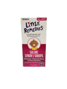 Little Remedies Saline Spray/Drops for Stuffy Noses, 30ml, Pack of 3