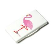 UberMom Flamingo Wipebox in White