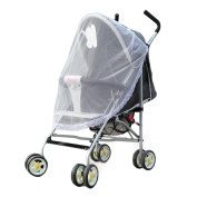 Binmer(TM)Lace Safe Baby Carriage Insect Mosquito Net Baby Stroller Cradle Bed Net