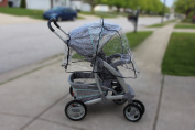 Stroller Cover for Rain and Dirt - Keep Baby Dry and Clean When Going for a Walk - See Thru Guard