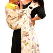 Vlokup® Wrap Original 100% Cotton Adjustable Baby Carrier Infant Lightly Padded Ring Sling Bear