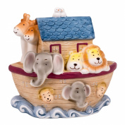 Children's 16cm H Noah's Ark Animal Filled Porcelian Desk Top Night Light