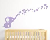 Elephant Bubbles Nursery Wall Decal Room Decor
