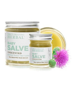 Baby Salve, Natural Nappy Cream, Rash Treatment And Moisture Barrier Skin Protectant And Cleanser (30ml and 120ml (travel and home)), Ora's Amazing Herbal