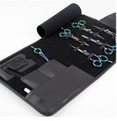 Professional Multi Colour Barber Haircutting Shears Set With Comb & Thinner Razors