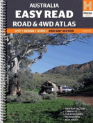 Australia Easy Read Road and 4WD Atlas A3 Spiral
