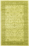 Modern Traditional 0.9m by 1.5m (0.9m x 1.5m) La Jolla Light Green Contemporary Area Rug