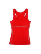 Jimmy Design Fitted Active Women's Sport Vest Training Tank Top Running Shirt Multicolor