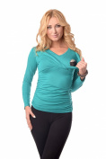 2in1 Maternity & Nursing V Neck Top Pregnancy Breastfeeding 7014 Variety of Colours