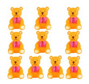 KingWinX Funny Baby Rubber Bathtub Toys, Pack of 20 pcs Bears