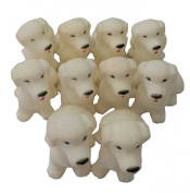 KingWinX Baby Rubber Bath Toys, Pack of 20 pcs Dogs