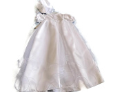 Christening Gown with Matching Bonnet