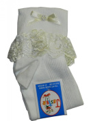 Pack of 3 Jester Frill Socks with Embellishments
