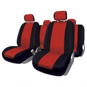 FUK10411 - Set complete car seat covers Sevilla, Blacks-Red