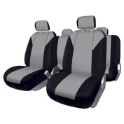 FUK10413 - Set complete car seat covers Granada, Black-Blue