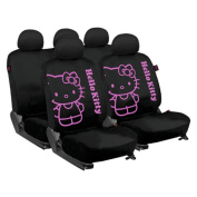 KIT3021 - Set complete car seat covers Hello Kitty, Univesal