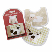Barnyard Bibs Two-piece Bib Gift Set