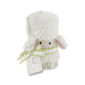 """Love Ewe Lamb Plush Velour Blanket"