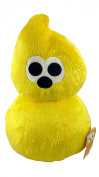 25cm Comical Egg Soft Toy - Yellow Comical Egg - 6 To Collect - TV Toys -