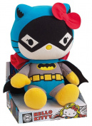 Jemini - Peluche Hello Kitty Super Héros - Batwoman 27cm - 3298060227896