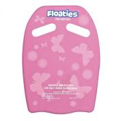 Floaties KICK BOARD Pink Butterflies