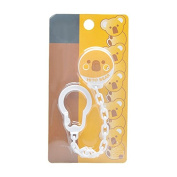 Lvge Pacifier Holder with Smooth Edged Clip