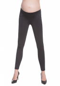 Bas Bleu Clothing Women Maternity Leggings PUSH-UP & TAILE PANTS WOMEN'S LEGGINGS, Laura/C, black