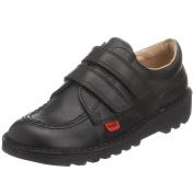 Kickers Kids Kick Lo Velcro School Shoe
