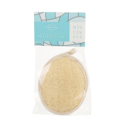 MISTIK SPA Loofah Exfoliating Face and Body Pad